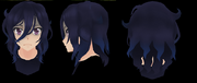 Model włosów oki