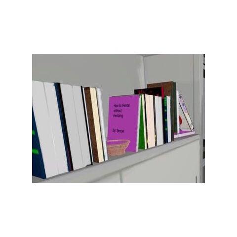Livro de Senpai, localizado na estante da sala dos professores.
