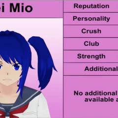 Quarto perfil de Mei.