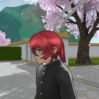 Modelo alternativo de cabelo de Kyuji.