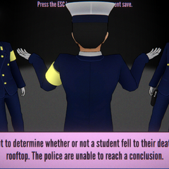 The police are unable to find the corpse if a student that fell to death from the rooftop been disposed. August 1st, 2020.