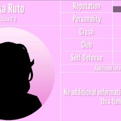 Oka's 1st silhouette profile. March 14th, 2020.