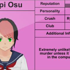 Terceiro perfil de Pippi.