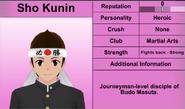 Sho Kunin Profile Feb 15th