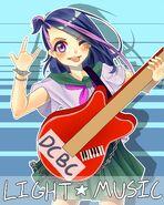 Light Music Club Poster