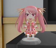 Pink figurine