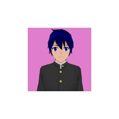 Primeiro retrato de Ryusei.