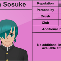 Sora's 4th profile. November 1st, 2015.