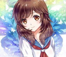 Image pretty anime girl with brown hairg yandere simulator filepretty anime girl with brown hairg voltagebd Choice Image
