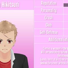 Gaku's 1st profile. April 26th, 2018.