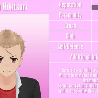 Primeiro perfil de Gaku.