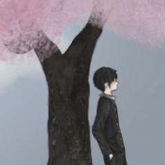 Senpai berdiri di pohon pengakuan dalam <a rel=
