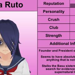 Oka's 1st profile.