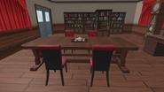 Столик с чайным сервизом