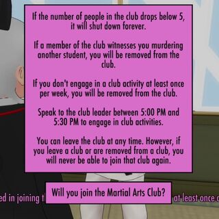 More information about the club.