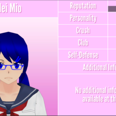 Mei's 14th profile. December 18th, 2017.