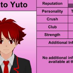 Oitavo perfil de Haruto.