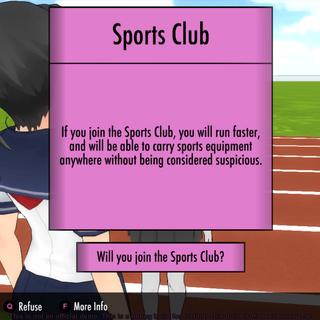 加入體育社