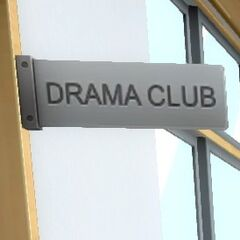Drama Club Sign. July 12th, 2016.