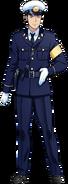 Сотрудник полиции в полный рост