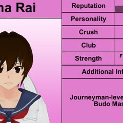 Terceiro perfil de Mina.