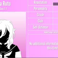 Oka's 3rd silhouette profile. June 1st, 2020.
