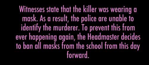 Wiadomość o tym, że maski z klubu Dramatycznego zostały zabrane