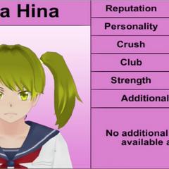 Terceiro perfil de Yuna.