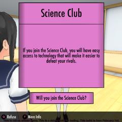 Descripción del club de ciencias
