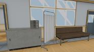 Druga kanapa pokoju pielęgniarki