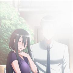 來自遊戲文件的Ryoba和Ayano父親的合照
