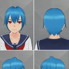 Kuu's in-game hairstyle.