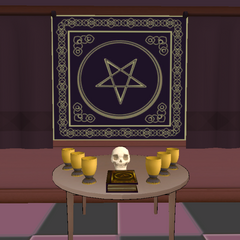 The altar before the February 21st, 2016 Build.