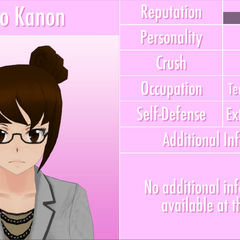 Kaho's 9th profile. June 3rd, 2016 (text outline fixed).