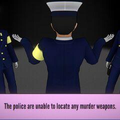 No weapon.