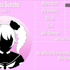 Kizana's 2nd silhouette profile. March 31st, 2020.