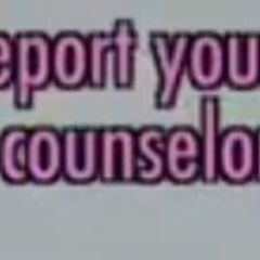 Step 4: Report your rival to the guidance counselor.