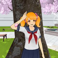 Rival-chan saluting.