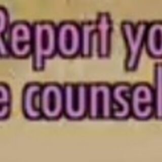 Step 3: Report your rival to the guidance counselor.
