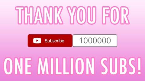 Thank You For One Million Subscribers!