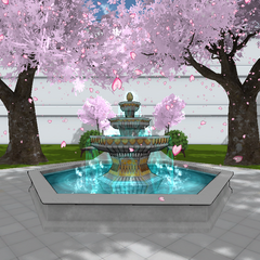Second version of the fountain. March 26th, 2017.
