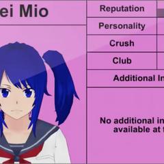 Terceiro perfil de Mei.