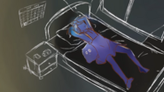 Ayano na łóżku 2