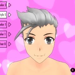 前輩頭髮造型(舊版本)#5