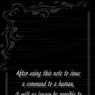 <i>Life Note</i> Volume 3 from the back.