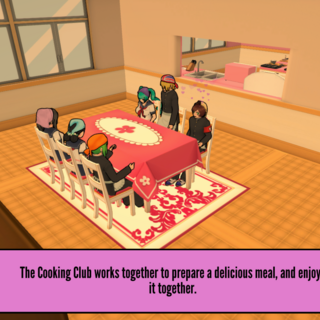 Participating the Cooking Club activity. August 18th, 2018.
