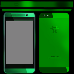 Texture of Midori's phone from the game files.