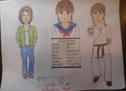 Mina rai drawing