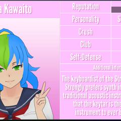 Kiba's 1st profile. September 7th, 2018 (Bugged).
