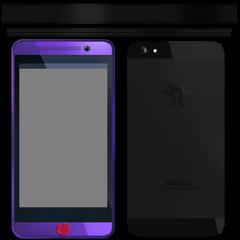Tekstur telepon Kokona dari file game.